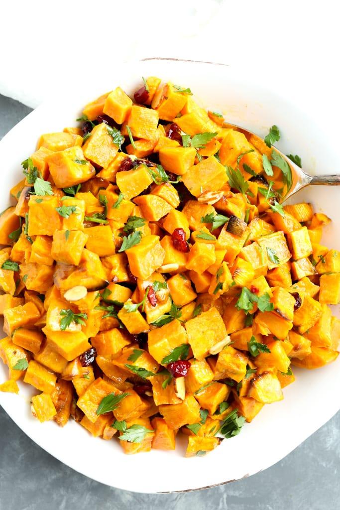 Roasted Sweet Potato Roasted Sweet Potato Salad Recipe