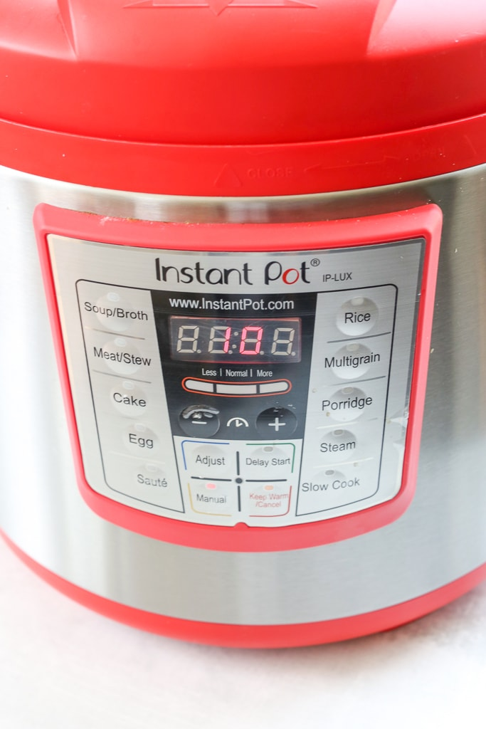 an instant pot pressure cooker