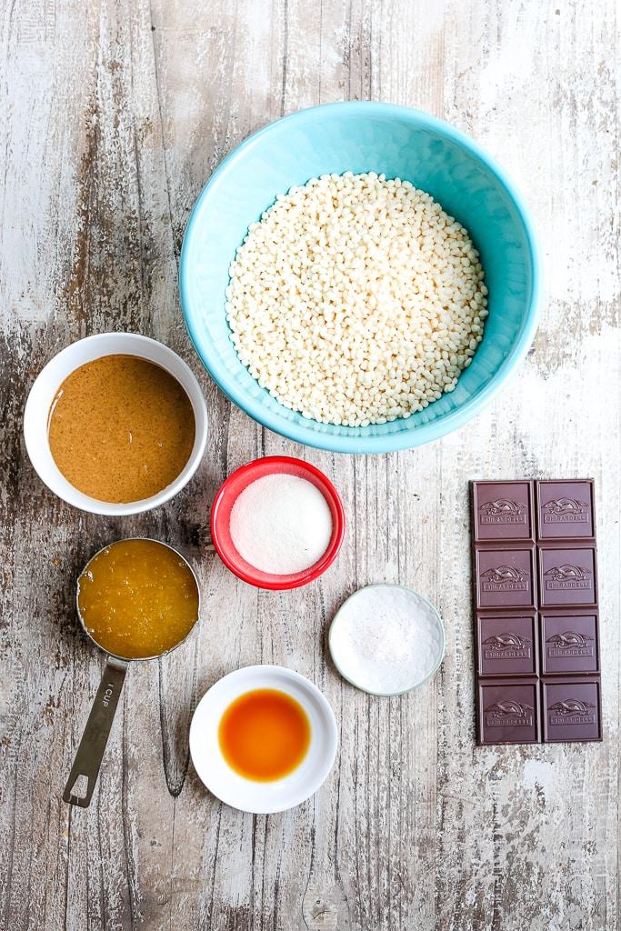 Protein Bar Recipe ingredients