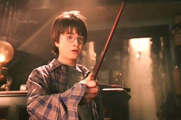 Harry Potter making everyone feel happier