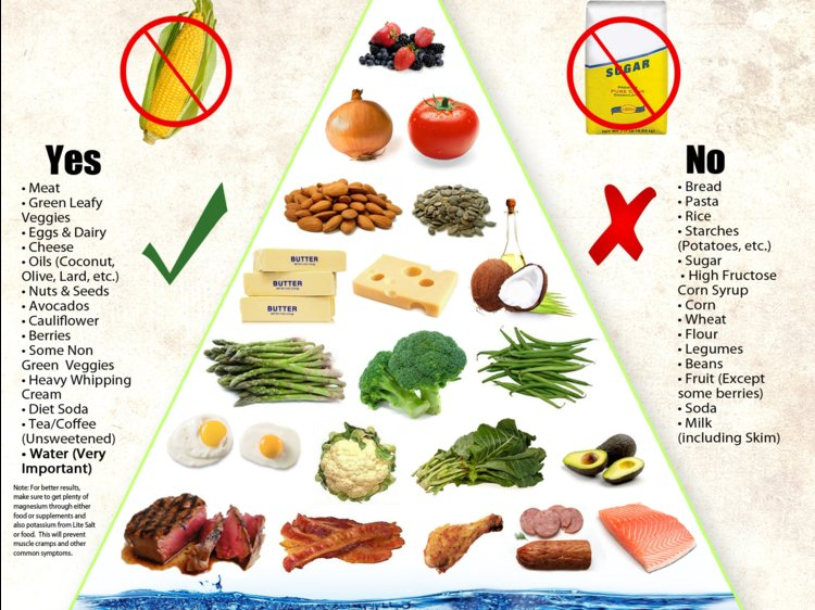 Food Pyramid- What to Eat and What Not to Eat