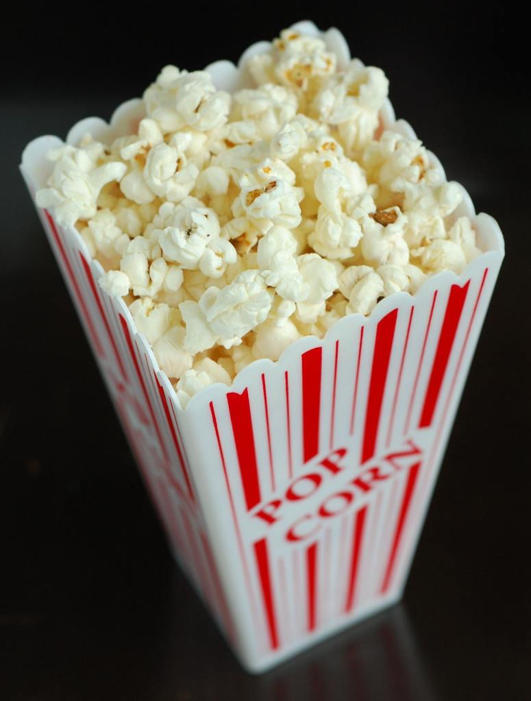 Popcorn for a 100 Calorie Snack
