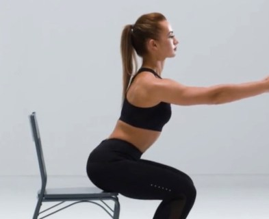 Box Squat for HIIT Workout