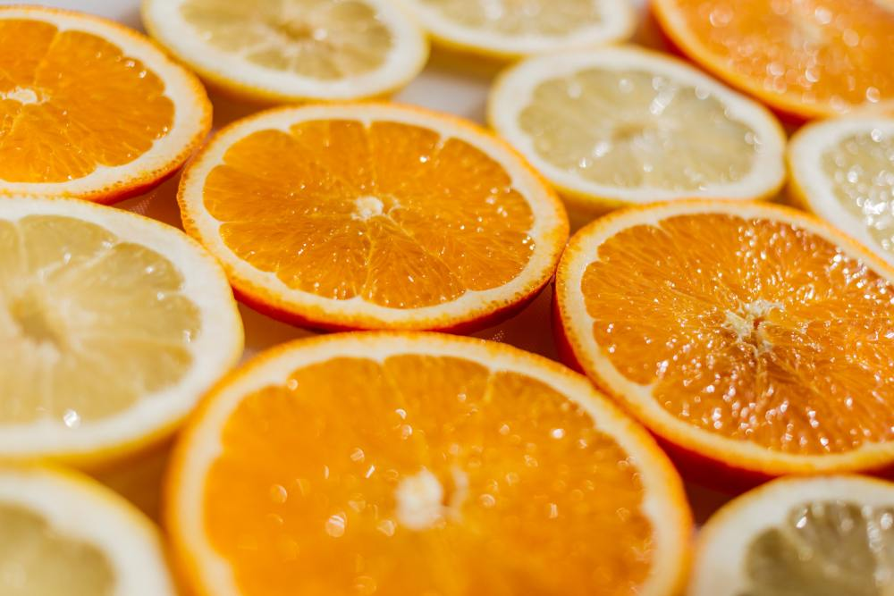 Orange and Lemon to Absorb Nutrients and Help with Digestion