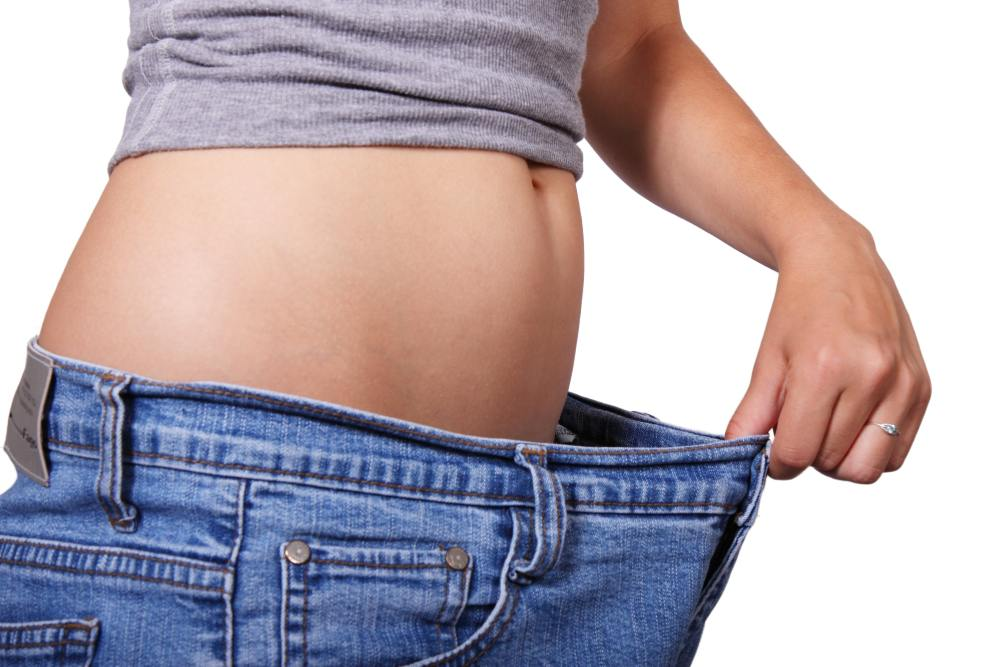 Baggy Pants on Woman for Fat Loss