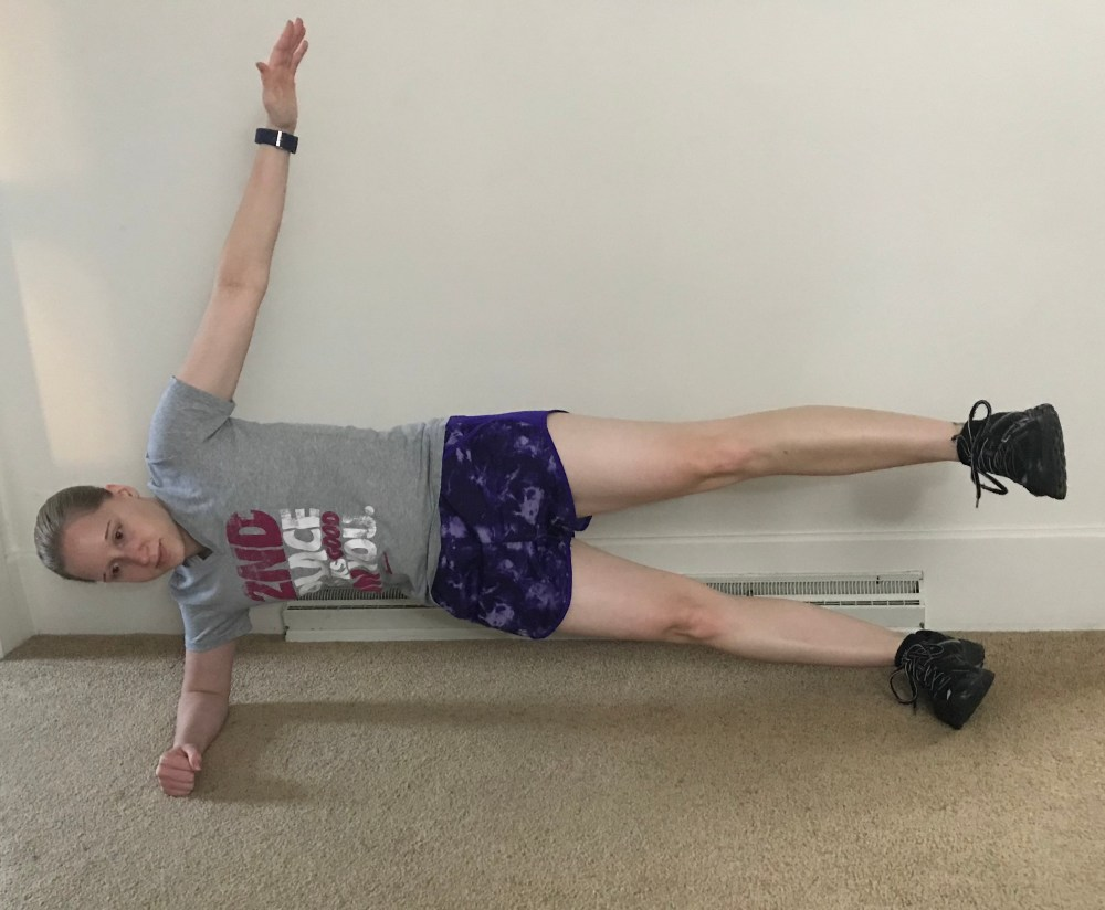Side Plank Abduction Exercise
