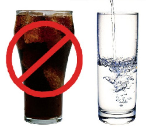 Soda Crossed Out - Remove Temptations to Build Healthy Habits
