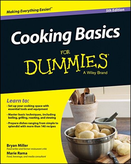 Cooking Basics for Dummies Book - Learning How to Cook