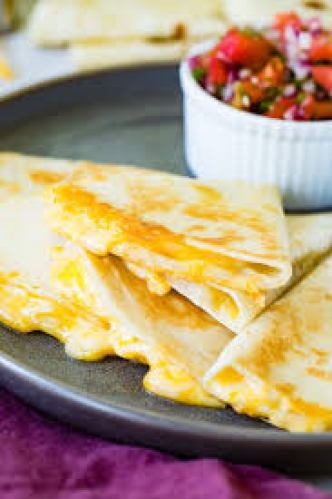 Quesadilla with Salsa- Basic Cooking How To