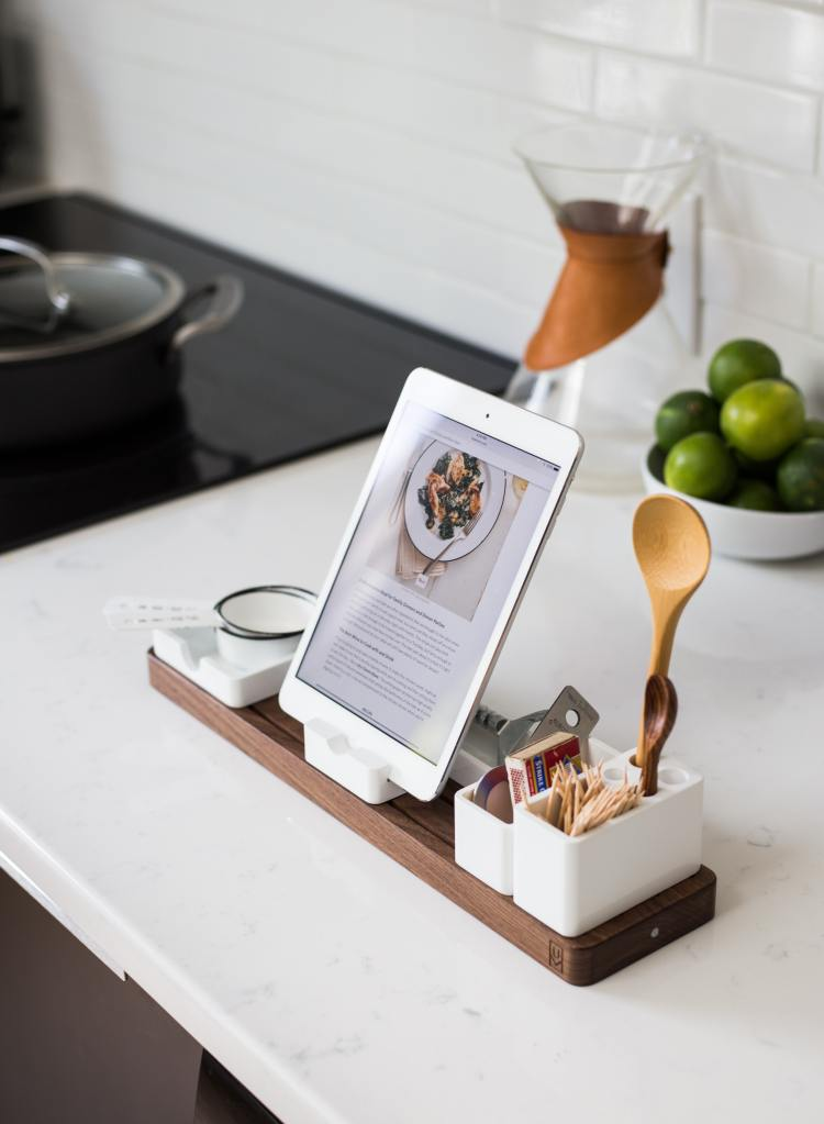 Common Cooking Mistake -Not Reading The Recipe- Tablet with Recipe on it