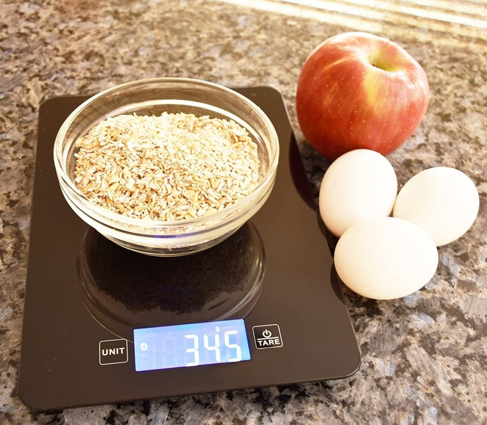 Food on Scale- How to Lose Lower Belly Fat