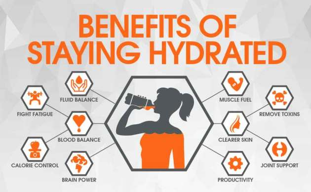 Benefits Of Staying Hydrated With A Woman Drinking Sports Drinks