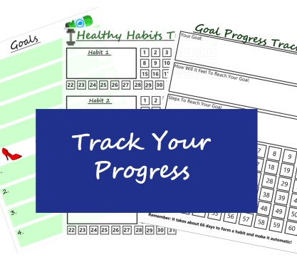 Progress Trackers Health And Fitness Journal