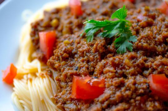 Pasta Sauce With Tomatoes