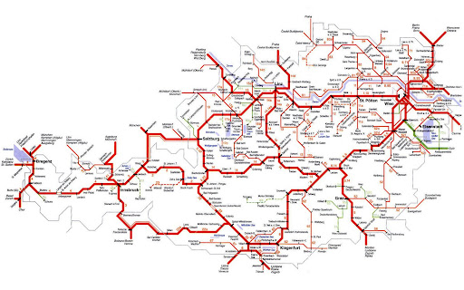 Traveling through Austria by Train (1/2)