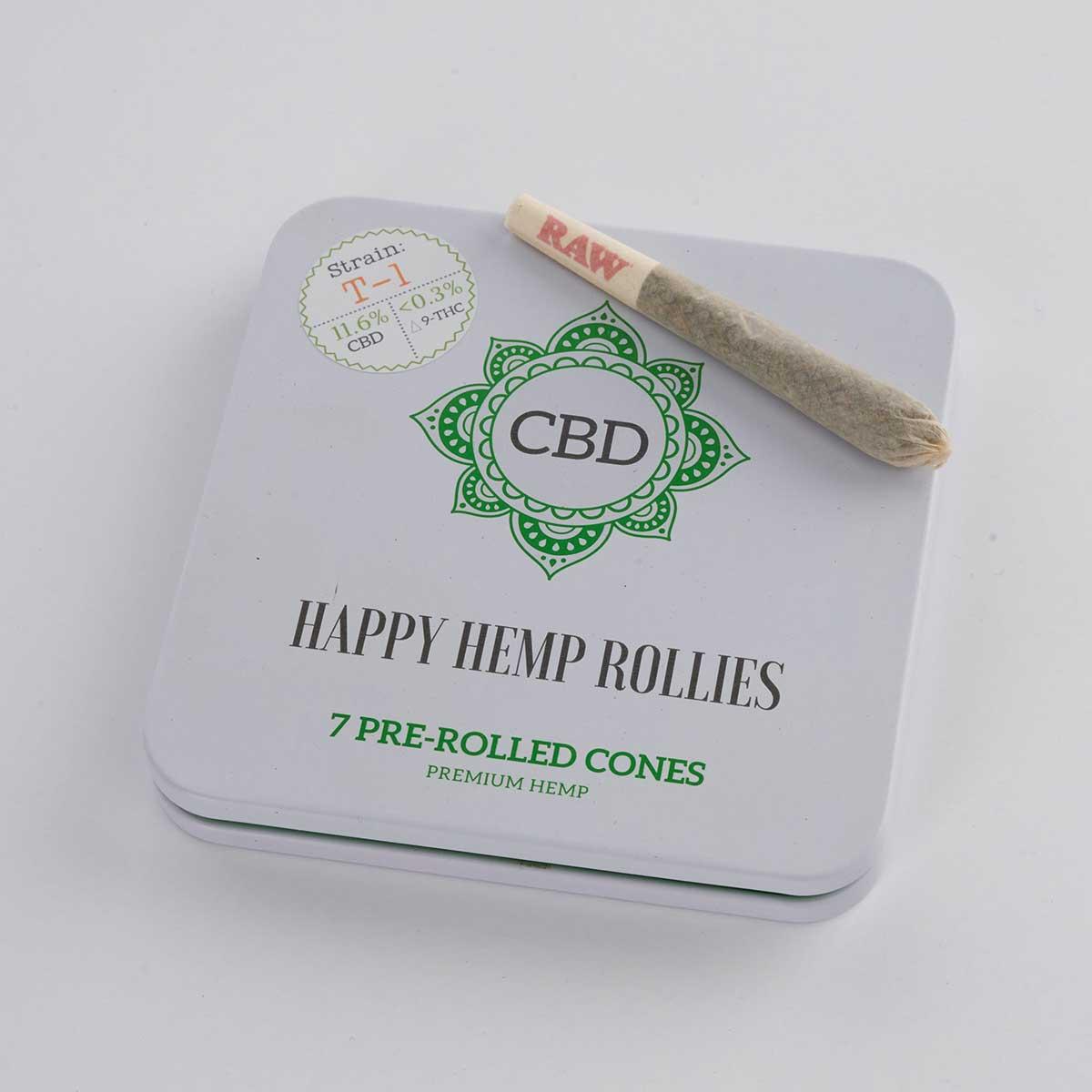 Premium CBD Hemp Pre-Rolls 7 Pack
