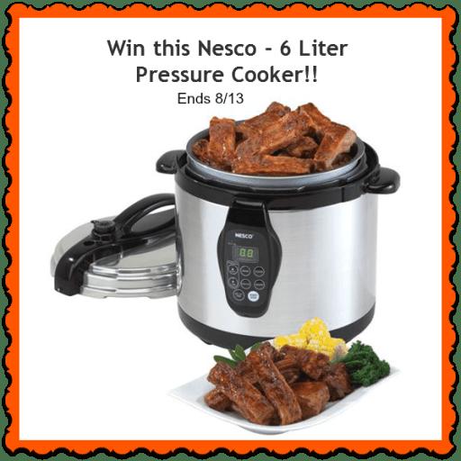 pressure cooker giveaway