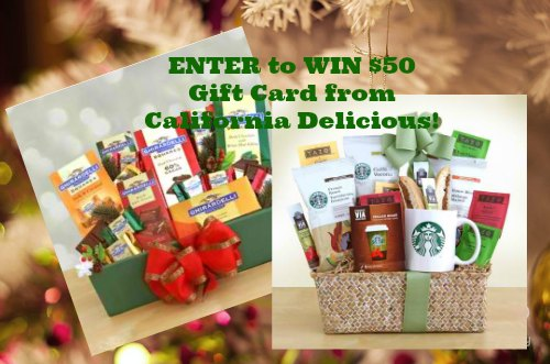 California Delicious Giveaway Happy home and family