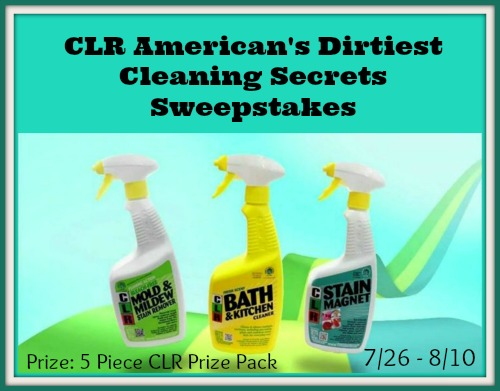 CLR American's Dirtiest Cleaning Secrets Sweepstakes