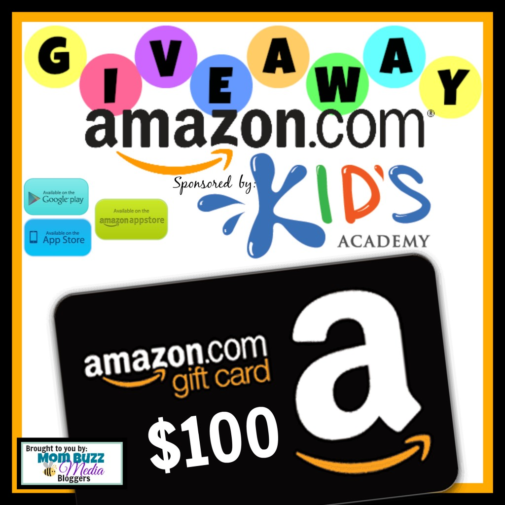 Win a $100 Amazon Gift Card from Kids Academy #SmartKidsWin #MomBuzz