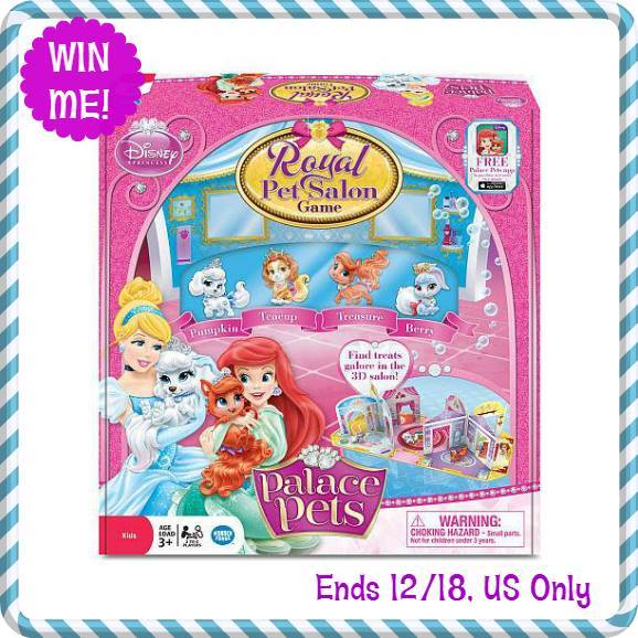 Wonder Forge Disney Palace Pet Salon Game Giveaway