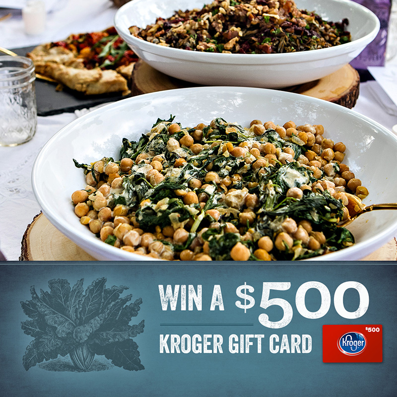 Earth Balance $500 Kroger Shopping Spree Sweepstakes