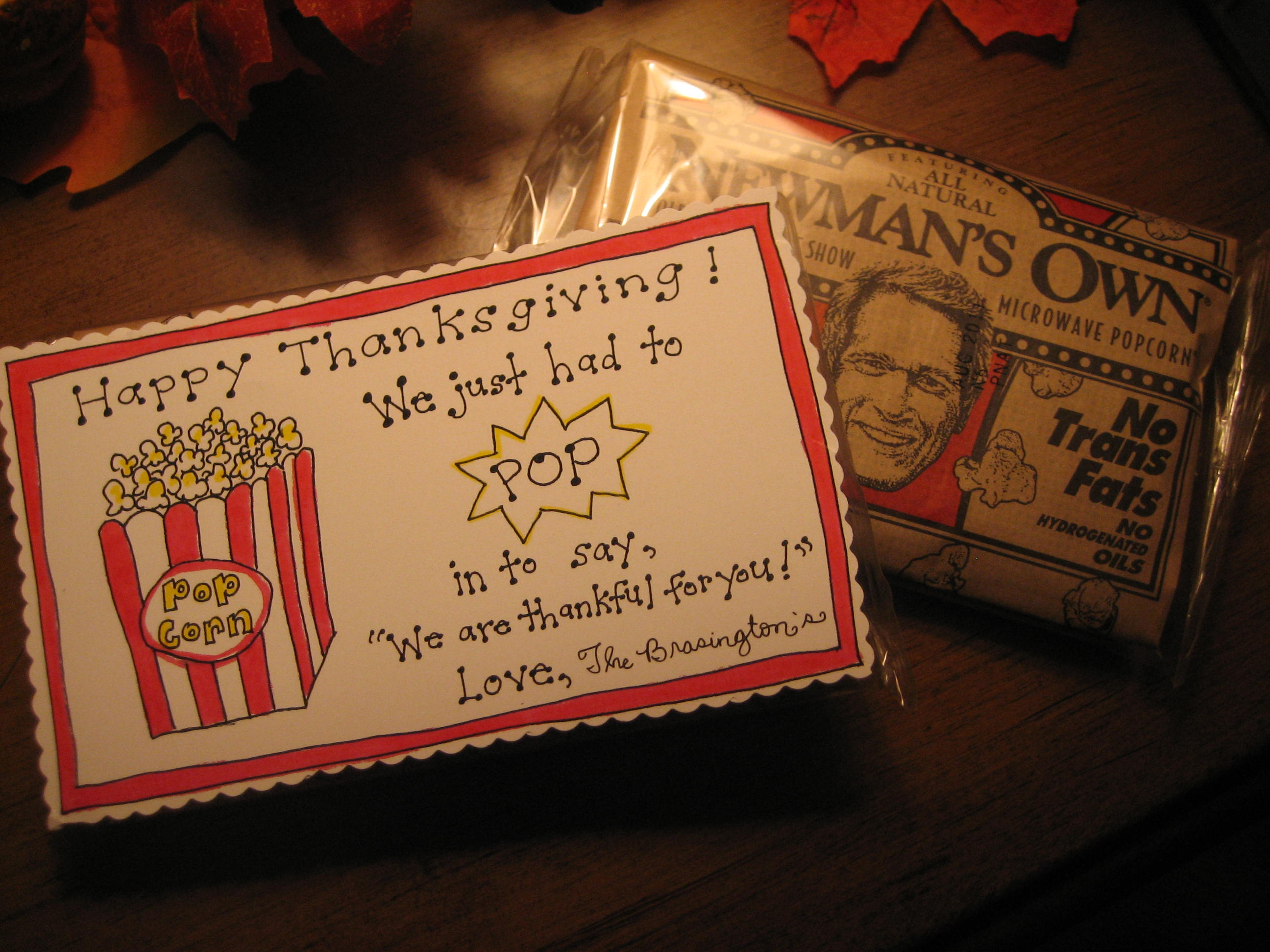 Thanksgiving Popcorn Tags Free Printable Happy Home Fairy