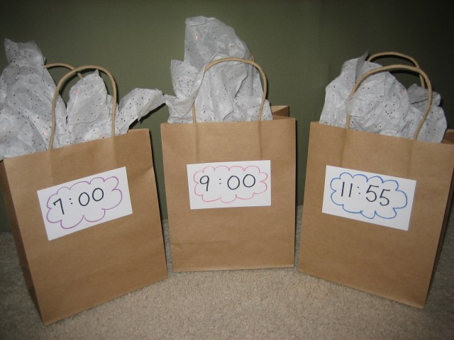New Year's Eve Countdown Bags - Happy Home Fairy
