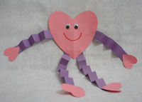 The 25 Days of Love Fun – Day 3: Paper Heart People