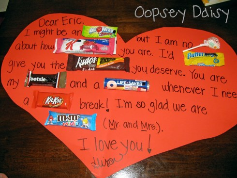 The 25 Days Of Love Fun Day 20 Valentine Candy Grams Happy Home