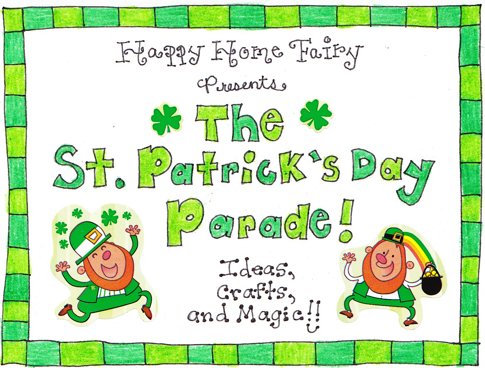 A St Patrick S Day Note For The Lucky Hubby