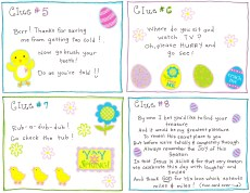 Easter Morning Scavenger Hunt – FREE Printable!