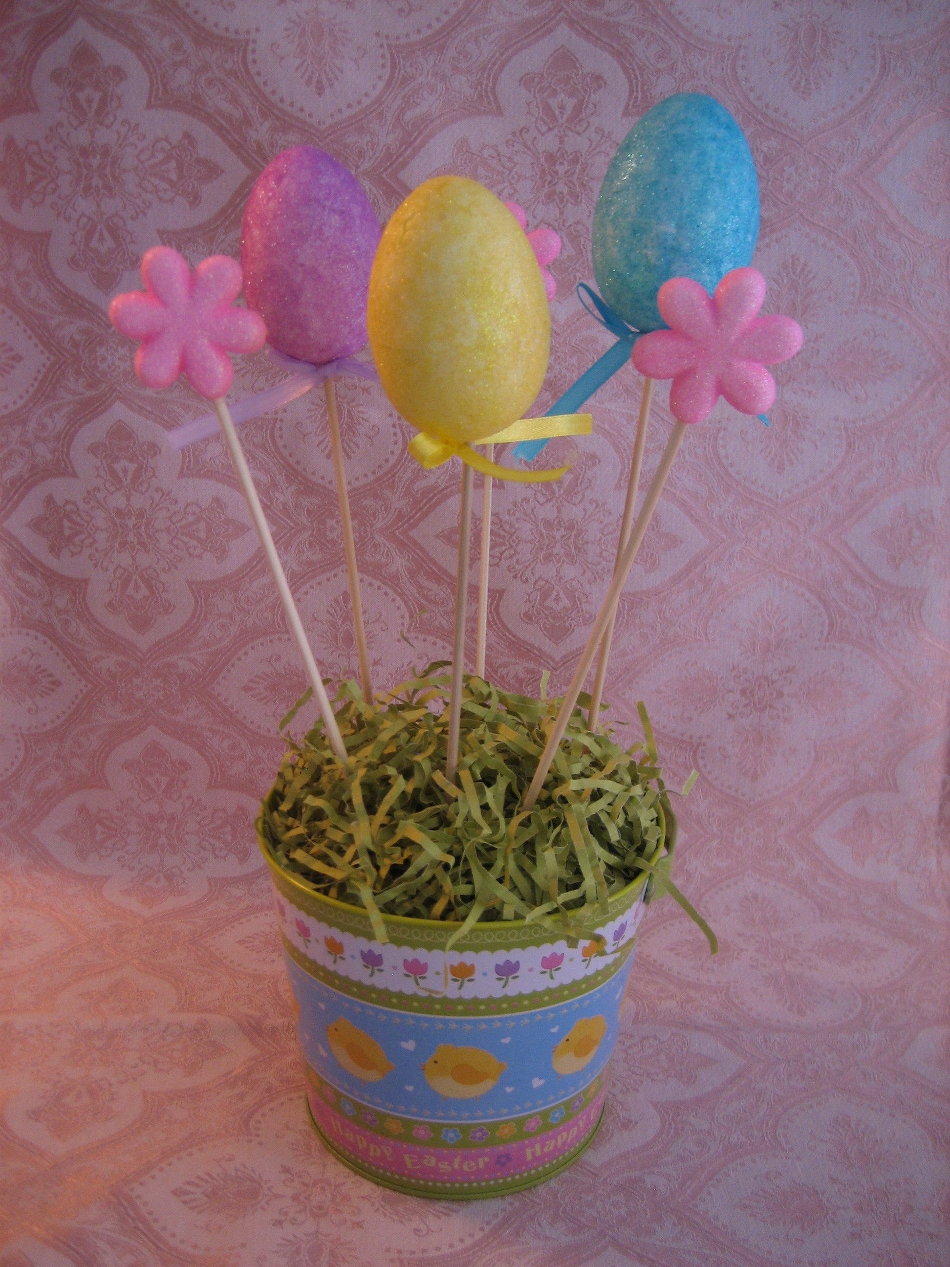 Dollar Store Easter Decorating Happy Home Fairy