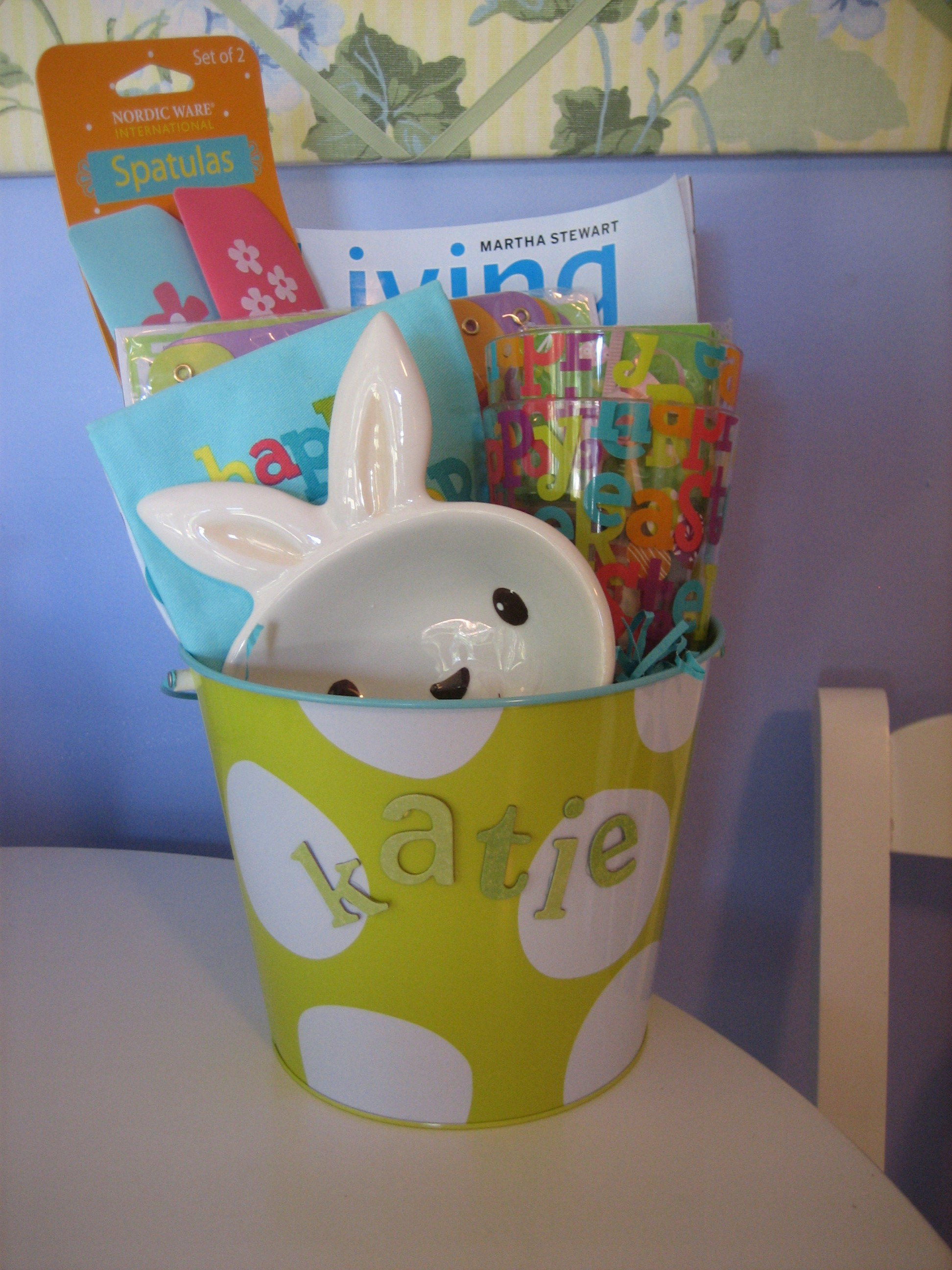 An easter basket for a mom happy home fairy here are a few pics of how her easter basket turned out negle Images
