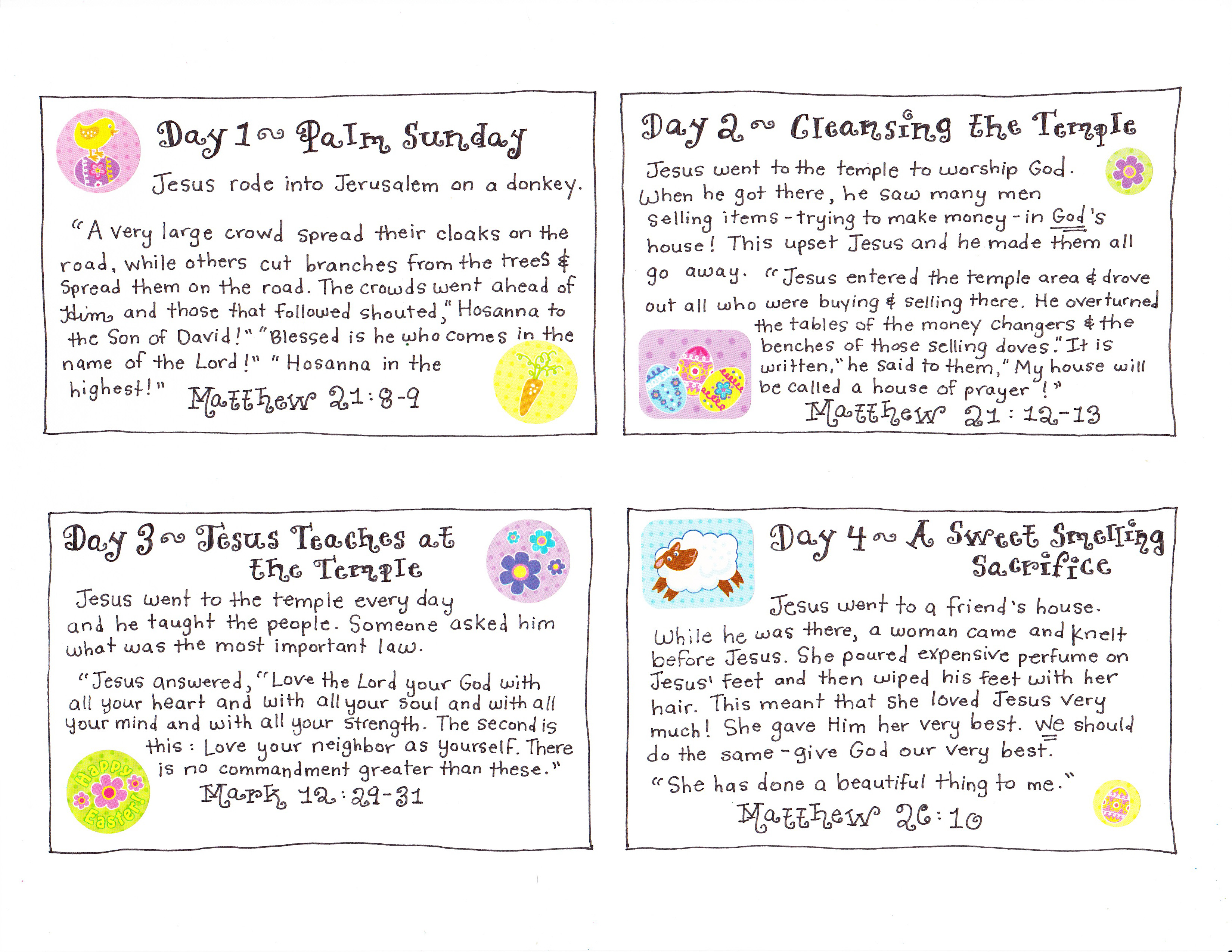 Story Cards 1