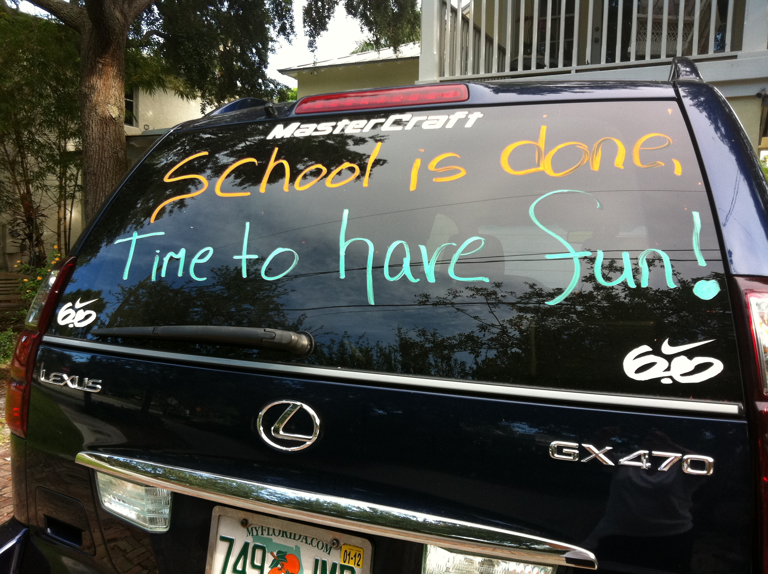 Last Day Of School Car Decorating