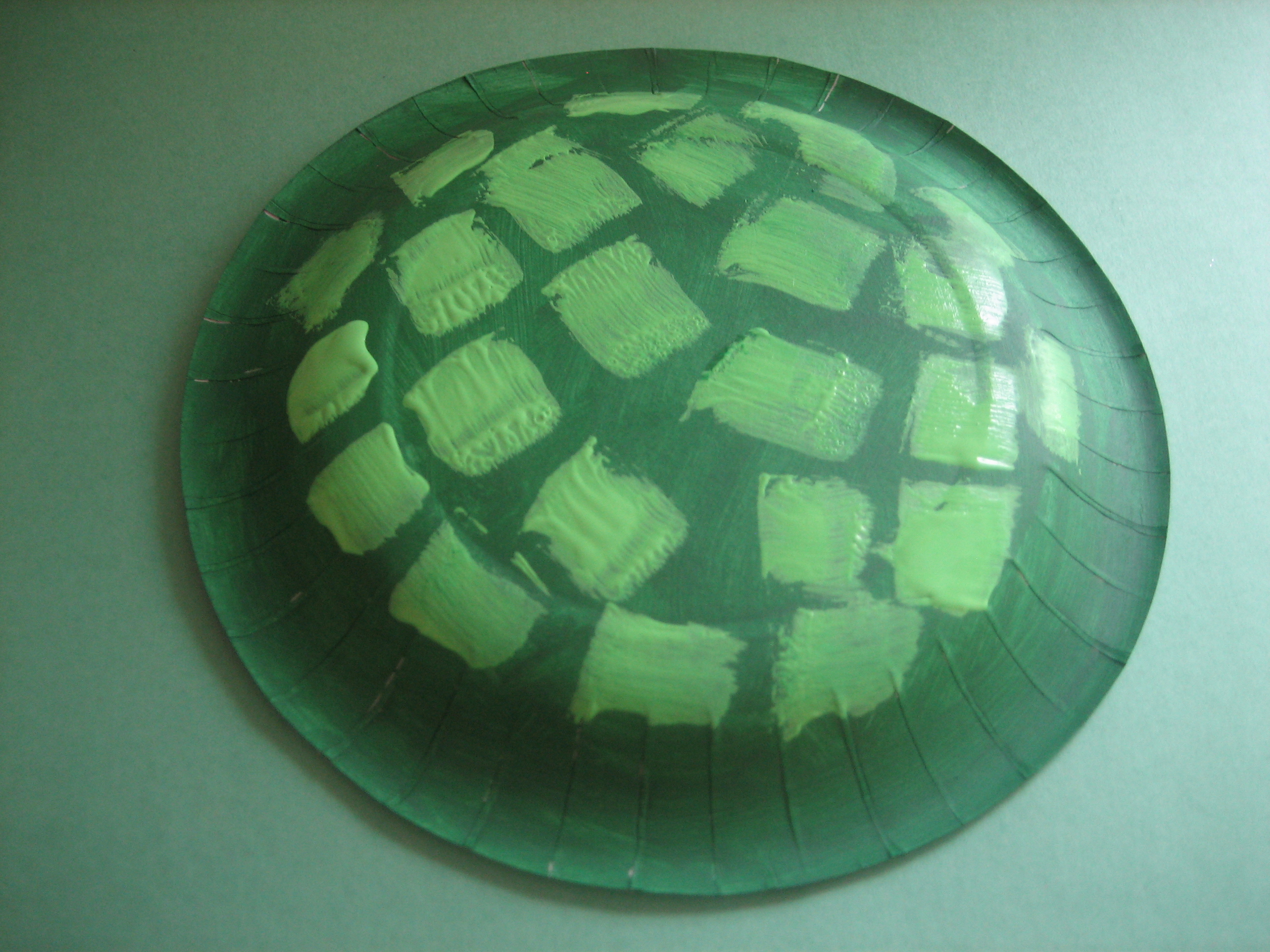 Step ... & Summer Craft - Paper Plate Turtle - Happy Home Fairy