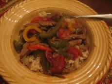 Recipe – Slow Cooker Pepper Steak