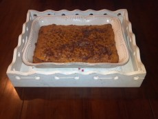 Recipe – Pumpkin Maple Coffee Cake