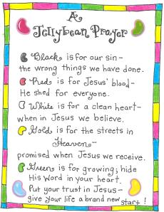The Jellybean Prayer – FREE Printable!