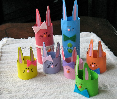 Easter Craft Ideas With Toilet Paper Rolls Diy