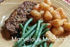 Recipe – Marvelous Meatloaf