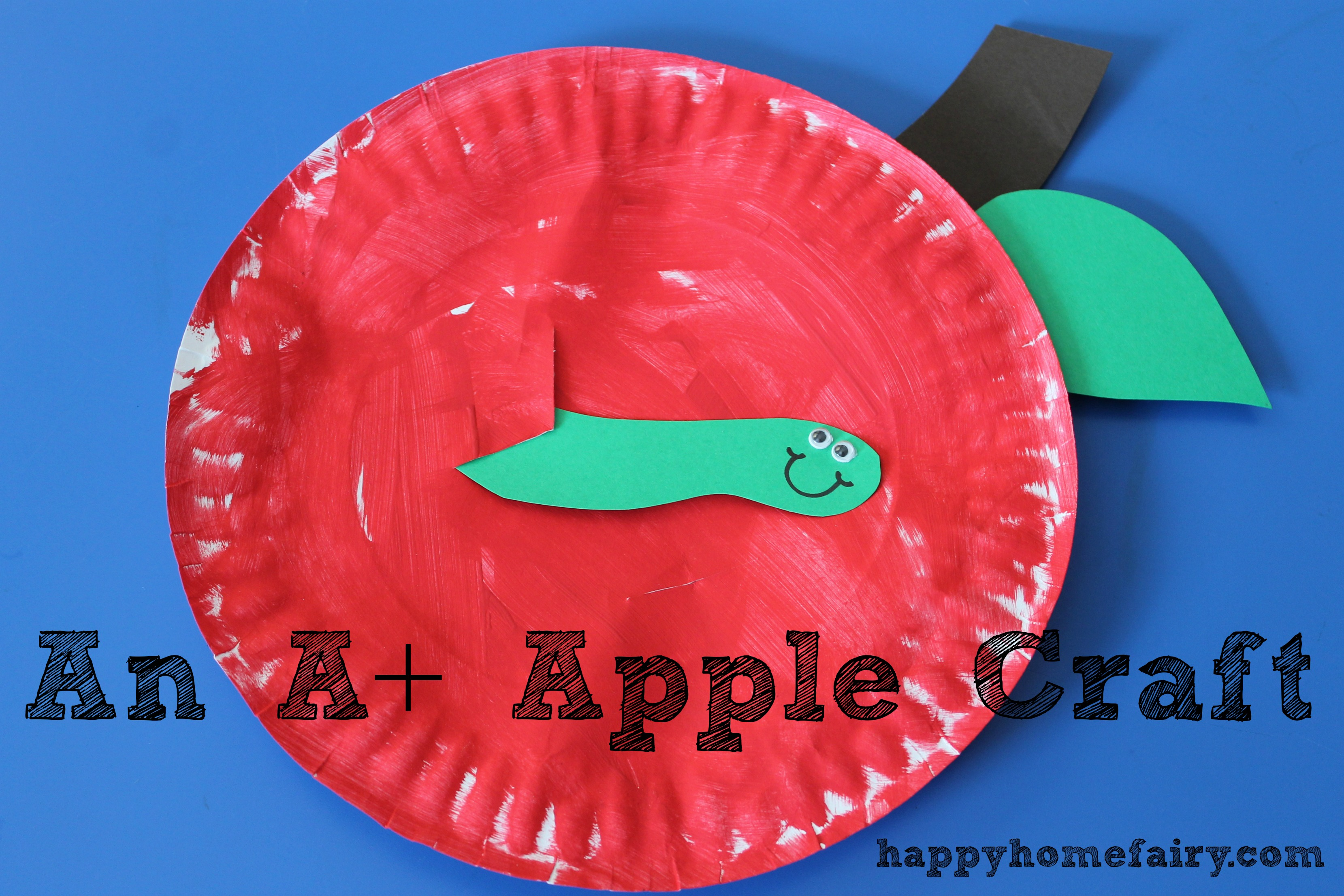 An A Apple Craft Happy Home Fairy