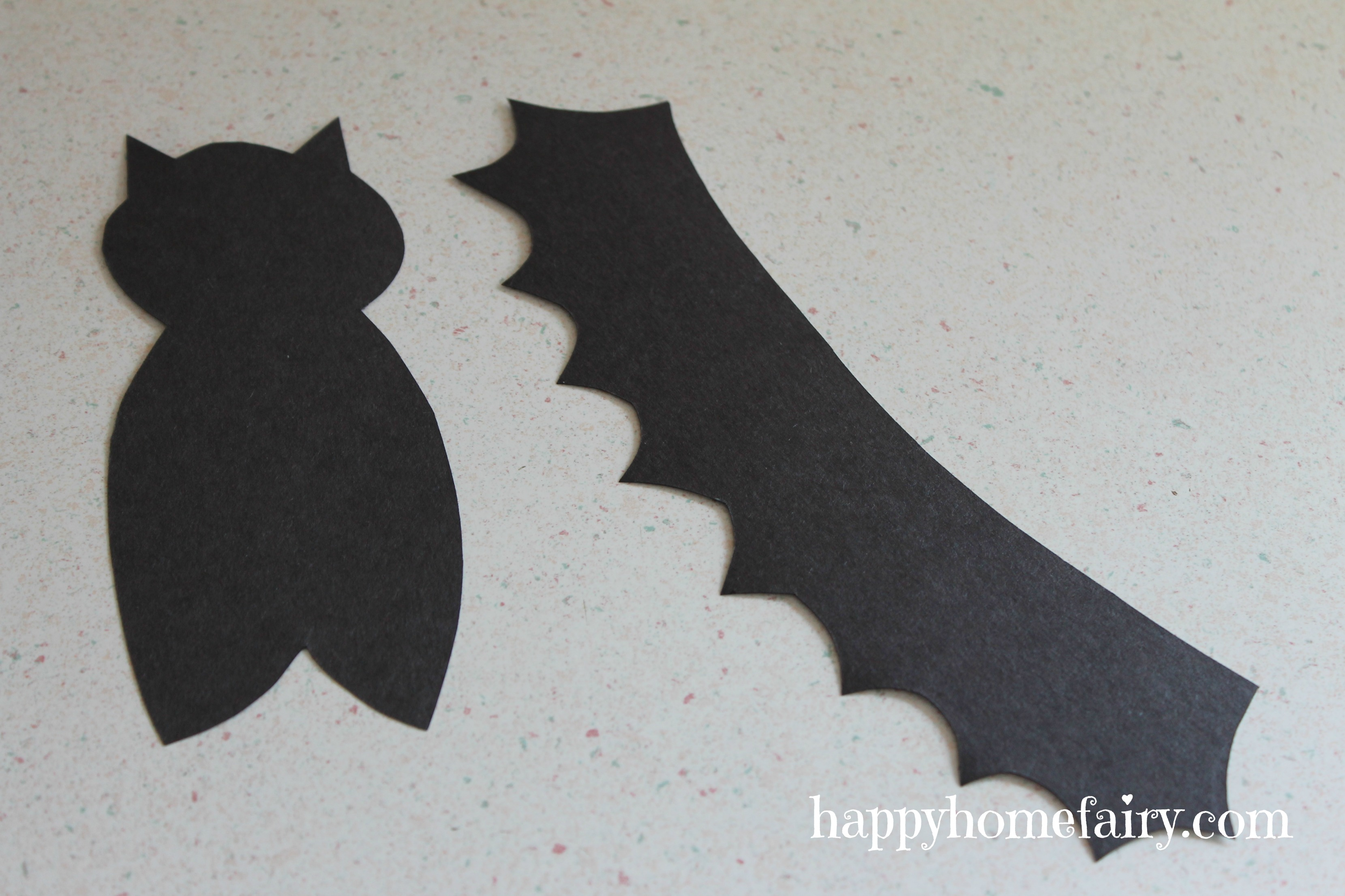 easy bat craft happy home fairy