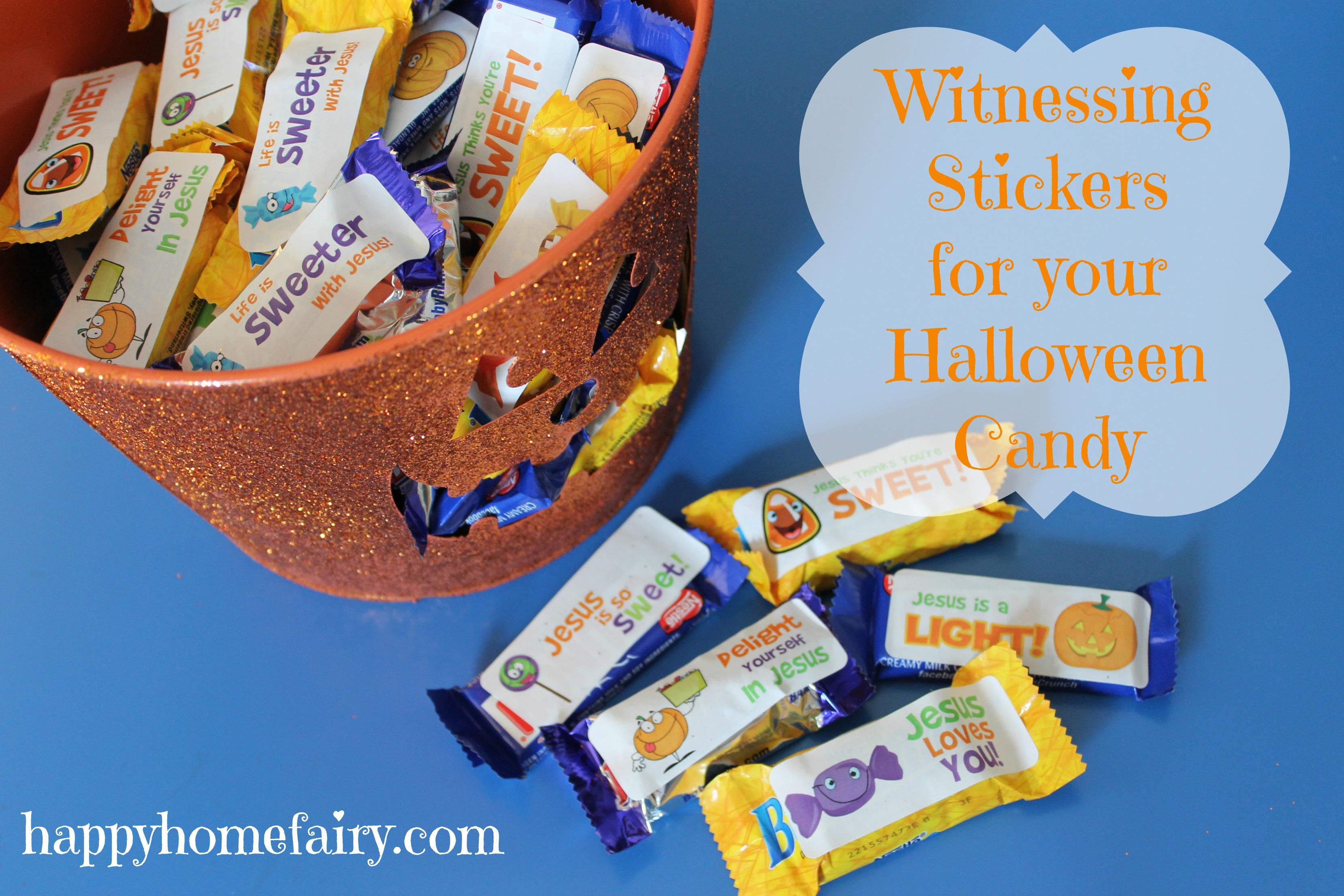 Christian halloween giveaways for children