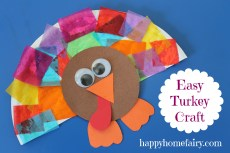 Easy Turkey Craft