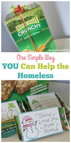 One Simple Way YOU Can Help the Homeless