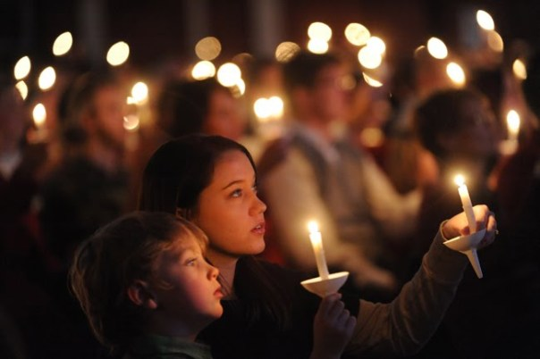 Image result for children on Christmas eve in church