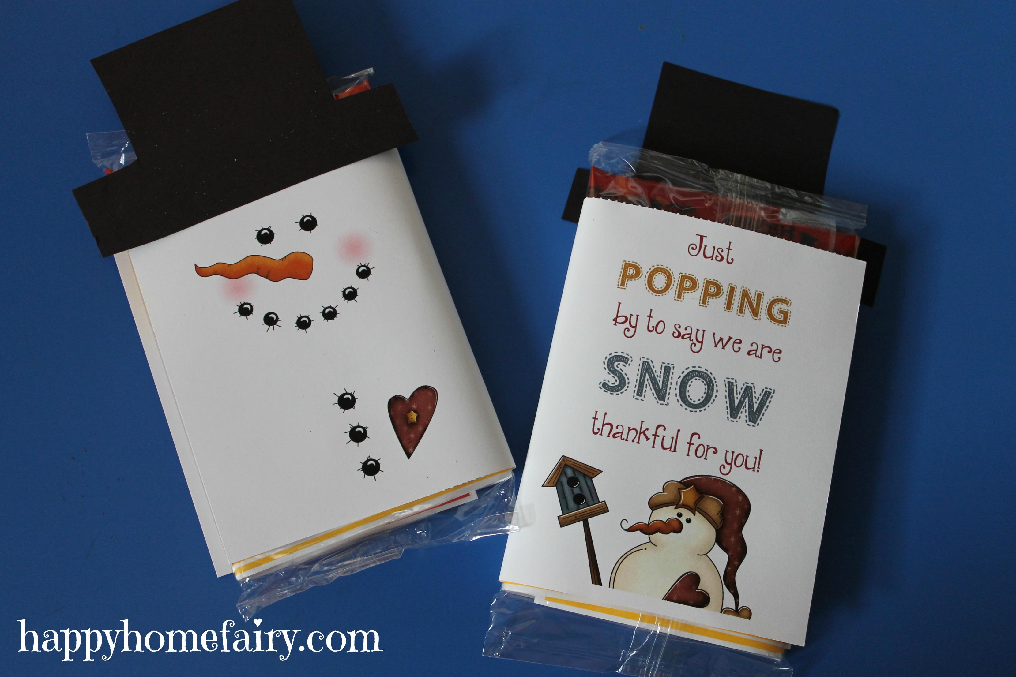 Snowman popcorn wrapper free printable happy home fairy popcorn wrapper 4 popcorn wrapper 2 pronofoot35fo Choice Image