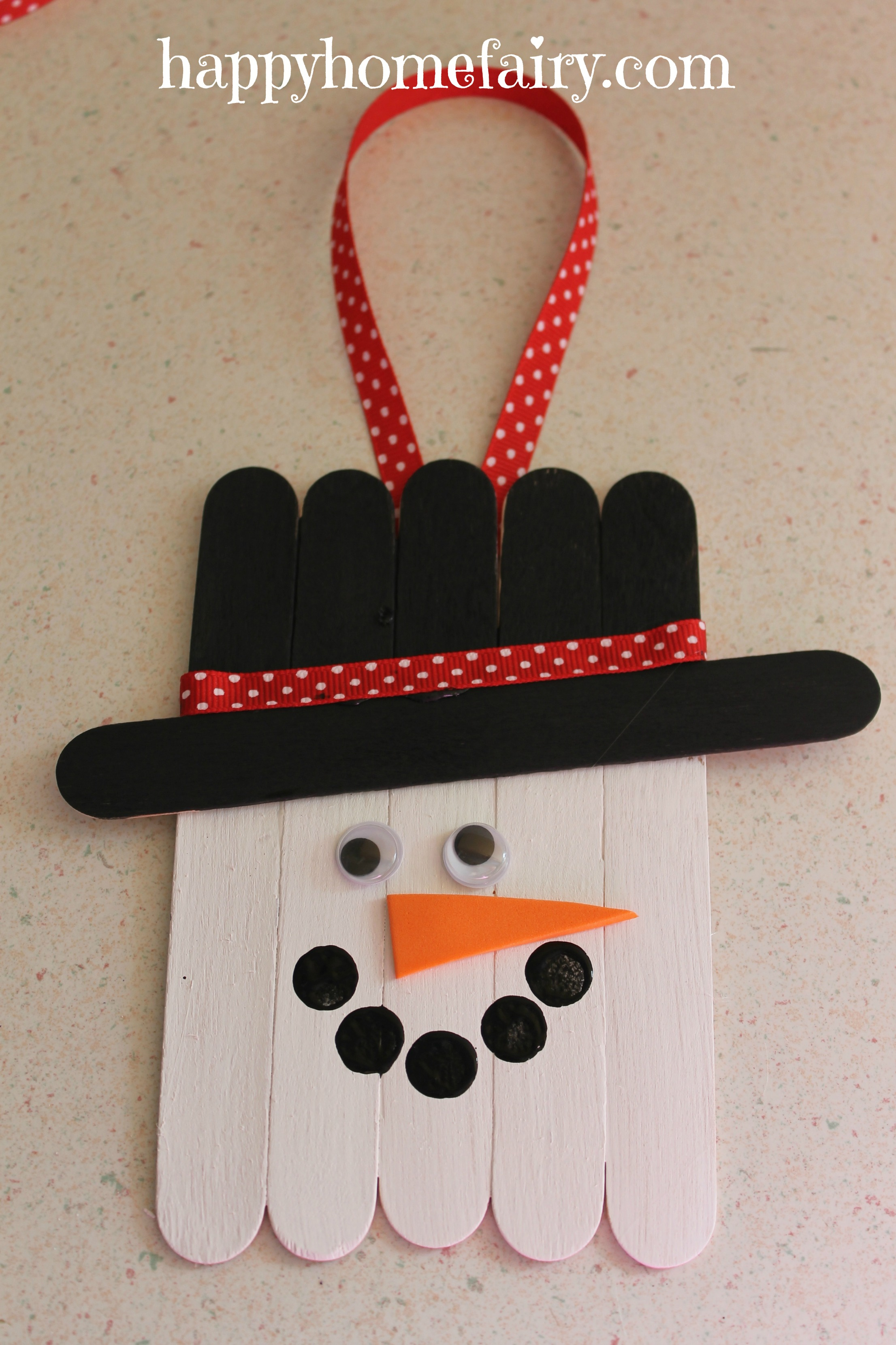 Easy Popsicle Stick Crafts Christmas